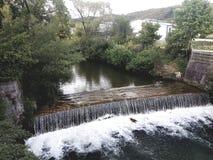 Cachoeira Áustria Berndorf Imagens de Stock