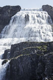 Cachoeira épico Dynjandi Imagem de Stock Royalty Free
