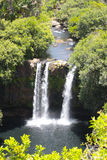 Cachoeira aérea fotografia de stock