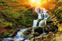 Cachoeira agradável Fotografia de Stock