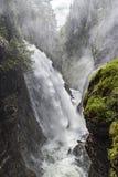 Cachoeira alpina Imagens de Stock Royalty Free