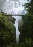 Cachoeira Andermatt fotografia de stock