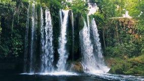 Cachoeira Antalya Turquia de Duden movimento 4k lento filme
