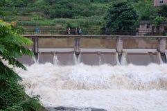 Cachoeira após chover Fotografia de Stock Royalty Free