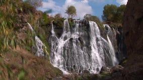 Cachoeira Armênia de Shaki ou de Shaqe video estoque
