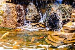 Cachoeira artificial Fotos de Stock Royalty Free