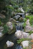Cachoeira artificial Foto de Stock Royalty Free