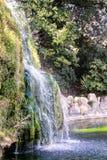 Cachoeira artificial imagens de stock royalty free