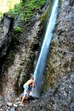 Cachoeira - as montanhas de Tatra Fotografia de Stock