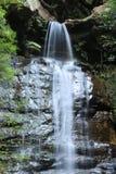 Cachoeira azul das montanhas Foto de Stock Royalty Free