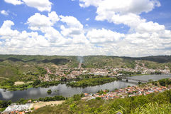 Cachoeira (Bahia, Brasile) Immagine Stock Libera da Diritti
