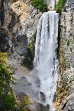 Cachoeira Boka em Slovenia Imagens de Stock Royalty Free