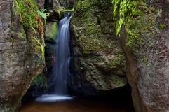 Cachoeira bonita Imagem de Stock Royalty Free