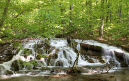 Cachoeira bonita Foto de Stock Royalty Free