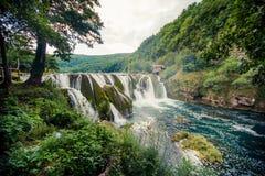 Cachoeira bonita Fotos de Stock Royalty Free