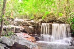 Cachoeira bonita de Suoi Tranh em Phu Quoc, Vietname Fotografia de Stock Royalty Free