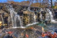 Cachoeira bonita do outono Imagens de Stock