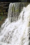 Cachoeira branca Foto de Stock