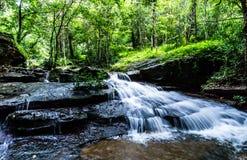 Cachoeira, cachoeira do som de Khum, distrito de Muang, Sakon Nakhon, Tailândia foto de stock royalty free