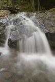 Cachoeira calma na floresta de Pensilvânia foto de stock royalty free