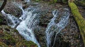 Cachoeira Cascada em Vaioaga imagem de stock