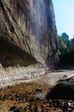 Cachoeira China de Dalong imagem de stock royalty free