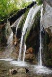 Cachoeira com diversos jatos Fotos de Stock