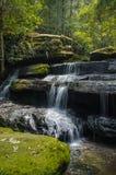 Cachoeira com exposição longa Foto de Stock Royalty Free