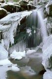 Cachoeira congelada Imagem de Stock Royalty Free