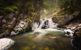 Cachoeira congelada Foto de Stock