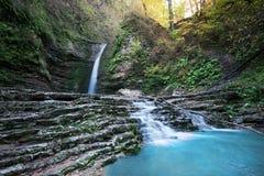 Cachoeira da beleza Fotografia de Stock Royalty Free