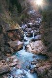 Cachoeira da beleza Fotos de Stock Royalty Free