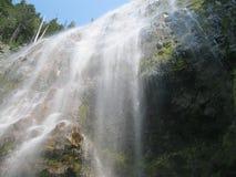 Cachoeira da cara da rocha Foto de Stock