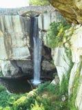 Cachoeira da cidade da rocha Fotos de Stock Royalty Free