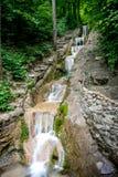 Cachoeira da etapa da escada em Gelendzhik Fotografia de Stock Royalty Free
