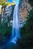 Cachoeira da floresta húmida Imagem de Stock