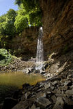 Cachoeira da força de Hardraw - Yorkshire - Inglaterra Fotografia de Stock Royalty Free