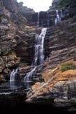 Cachoeira da fuga da lontra Imagens de Stock