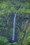 Cachoeira da garganta de Waimea, Kauai Imagem de Stock