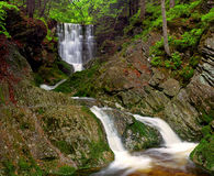 Cachoeira da mola Imagens de Stock Royalty Free