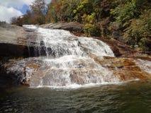 Cachoeira da montanha Foto de Stock Royalty Free