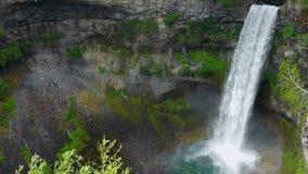 Cachoeira da montanha video estoque