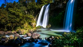 cachoeira da natureza imagens de stock