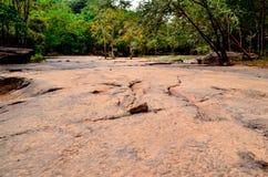 Cachoeira da pedra de Tat Ton Fotos de Stock Royalty Free