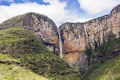 Cachoeira da placa - Brasil foto de stock