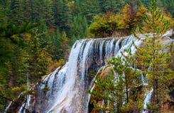 Cachoeira da praia da pérola foto de stock royalty free