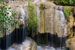 Cachoeira da queda da água de Arawan fotos de stock