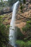 Cachoeira da queda do véu de Bridel perto do sabie em África do Sul Fotografia de Stock Royalty Free