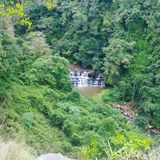 Cachoeira da reserva natural de Krantzkloof Fotografia de Stock