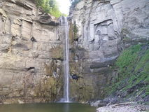 Cachoeira da rocha Imagens de Stock Royalty Free